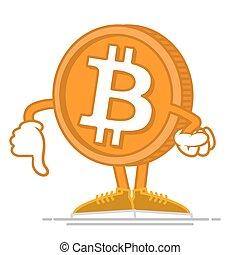 Dont happy bitcoin