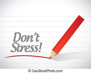 Image result for don't stress clipart