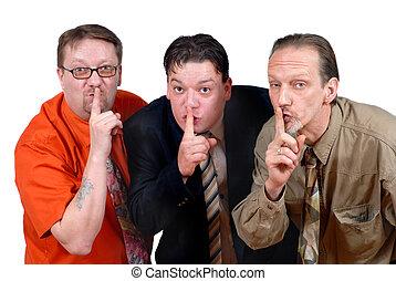 Don\\\'t tell! - Three slick punk-like alternative sales or...