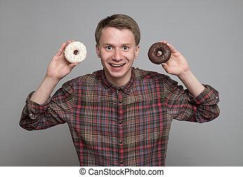donut , νέοs άντραs