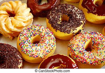 donut, asortyment