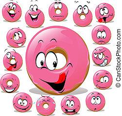Donut cartoon