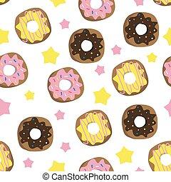 donut, ilustracja