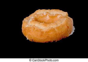 Donut Old Fashioned - Old fashioned type donut isolated on...
