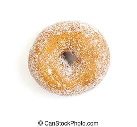 donut on white