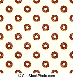 Donut pattern seamless