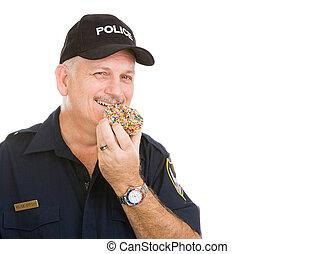 donut, poliziotto