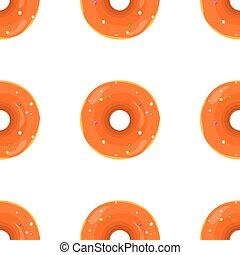 Donut Seamless Background Texture Pattern