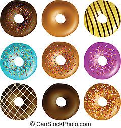 Donut set eps10