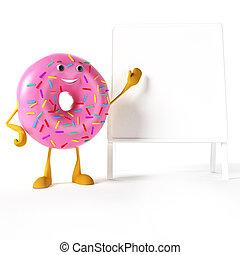 donut, zeichen