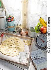 donuts , ηλιόλουστος , υπέροχος , κουζίνα