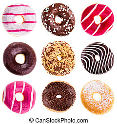 donuts, cobrança