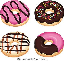 donuts, köstlich