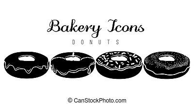 donuts, set