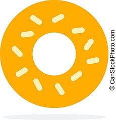 Donuts without glaze