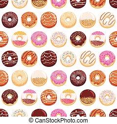 donuts, yummy, seamless, modello