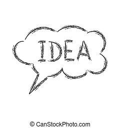 doodle., λόγοs , δραμάτιο , σύνεφο , idea., άσπρο , λέξη , φόντο , απομονωμένος , ρυθμός , μολύβι