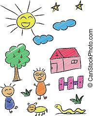 doodle, 3 dzieci
