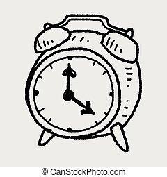 doodle alarm clock