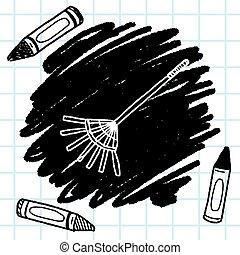 doodle, ancinho