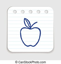 Doodle Apple icon