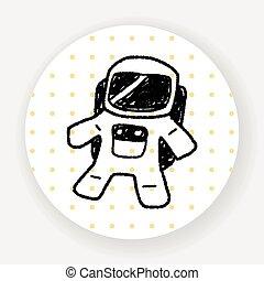 Doodle Astronaut