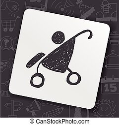 doodle baby stroller