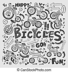 doodle bike element