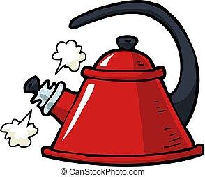 Doodle boiling kettle
