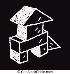 Doodle Building Blocks