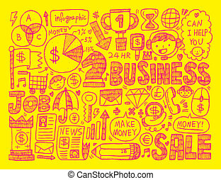 doodle business element