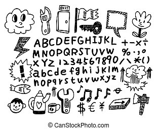 doodle cartoon