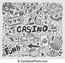 doodle casino element