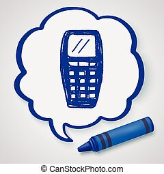 Doodle Cell phone