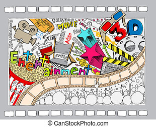 doodle, cinema