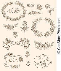 doodle, communie, romantische