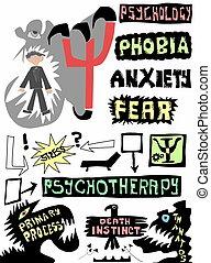 doodle concept psychology