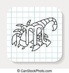 doodle, constelação, astrologia