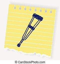 Doodle Crutch