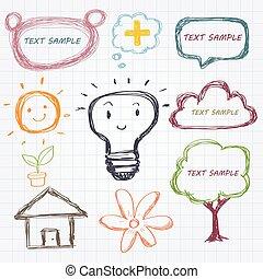 Doodle design element