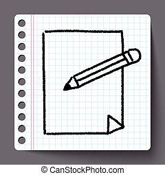 doodle, document