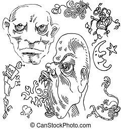 Doodle Drawing Set