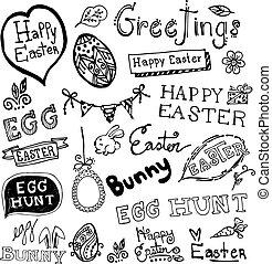 Doodle Easter .