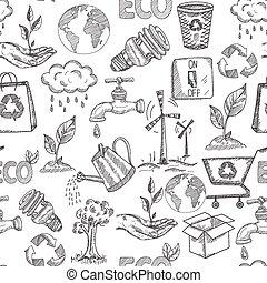 Doodle Ecology Seamless