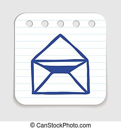 Doodle Email icon.