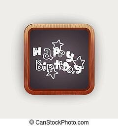 doodle, fødselsdag, glade, gilde