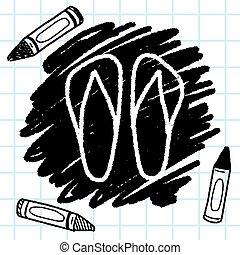doodle, fiasko, trzepnięcie