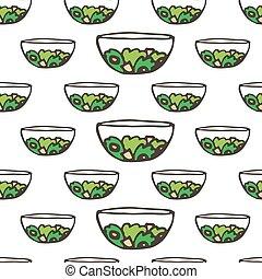 doodle food greek salad