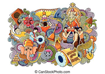 Doodle for Happy Ganesh Chaturth