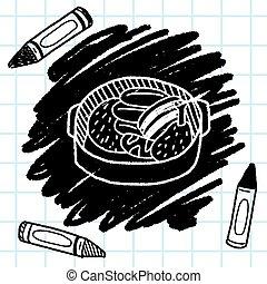 doodle, guisado